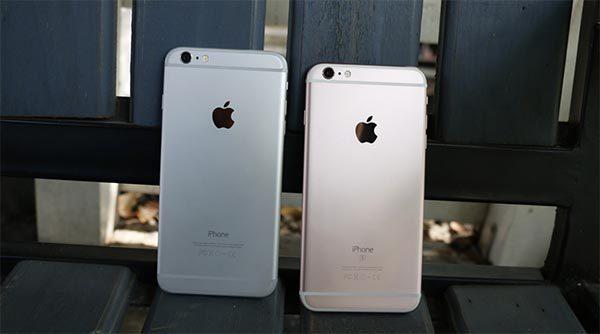 iPhone 6 Plus và 6S Plus gần như không có nhiều khác biệt về ngoại hình