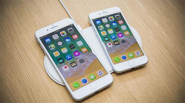 iPhone 8 tích hợp sạc nhanh và công nghệ sạc không dây tiên tiến