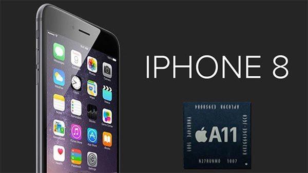 iPhone 8 với trang bị chip xử lý A11 Bionic độc quyền của Apple
