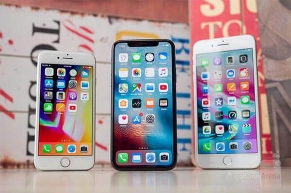 iPhone 8 Plus và iPhone X đều sở hữu những thông số màn hình ấn tượng