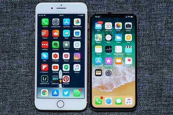 iPhone X và 8 Plus đều sở hữu cấu hình chip A11, RAM 3GB