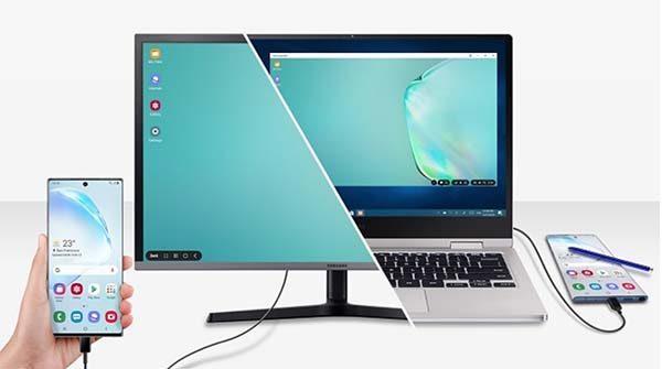 Sử dụng dây cáp sạc USB kết nối điện thoại và máy tính