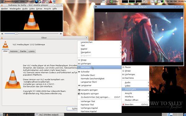 Phần mềm đa năng VLC với nhiều tùy chọn hình thức giải trí đa phương tiện