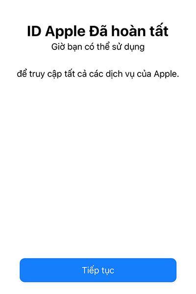 Tạo tài khoản Apple ID đơn giản (10)