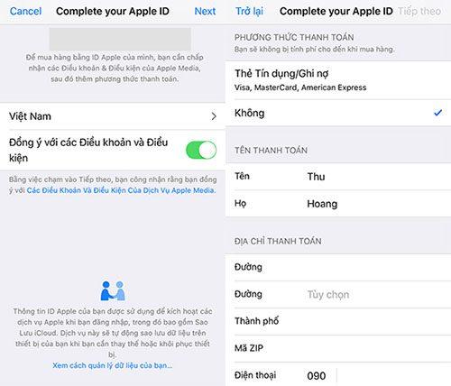 Tạo tài khoản Apple ID đơn giản (9)