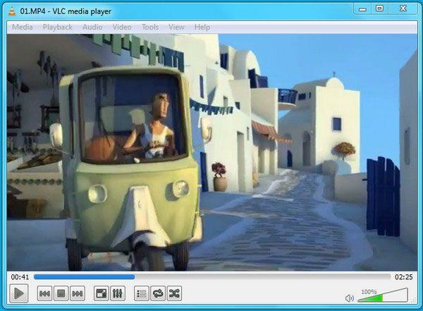 Xem video trên phần mềm VLC
