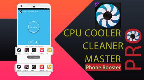 CPU Cooler có khả năng hạ nhiệt độ điện thoại nhanh chóng