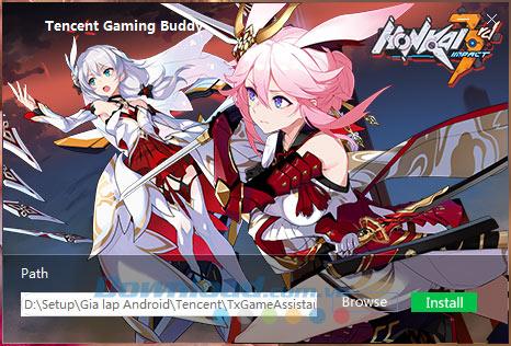 Cài đặt Tencent Gaming Buddy trên PC
