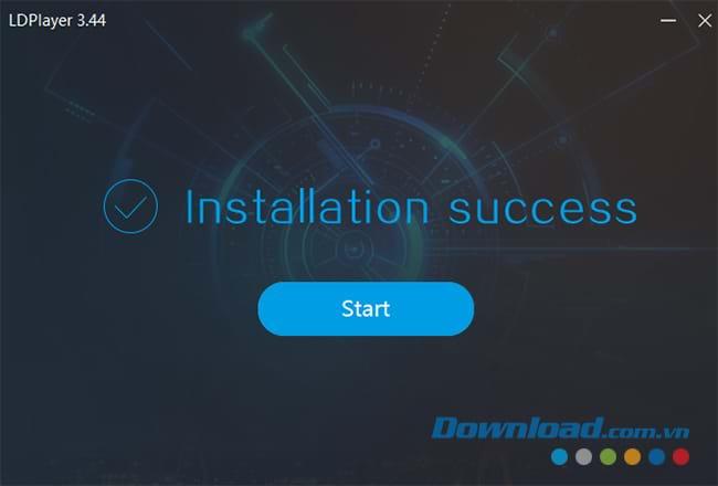 Chọn Start để khởi động giả lập Android LDPlayer