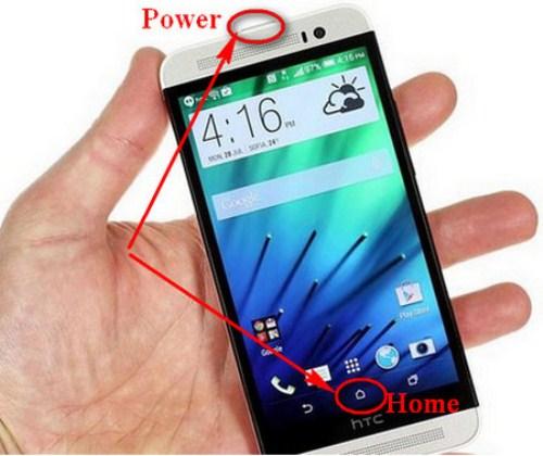 Mách bạn 3 cách chụp màn hình HTC dễ dàng nhất