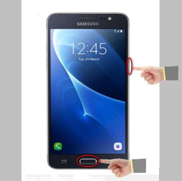 Hướng dẫn cách chụp màn hình Samsung J5 đơn giản nhất