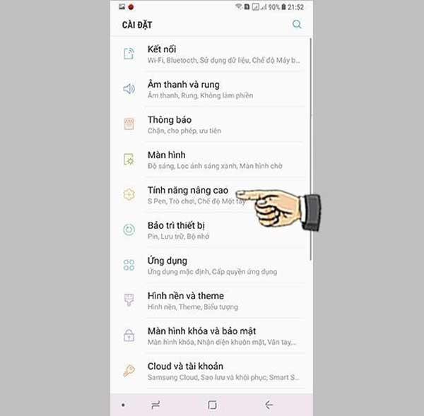 Cách chụp màn hình Samsung Galaxy J5