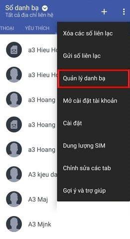 Chuyen Danh Ba Tu Sim Sang Dien Thoai Android 1