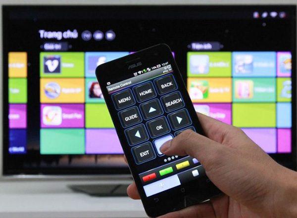 Điều khiển smart tivi LG bằng điện thoại Android