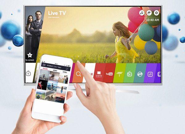 Điều khiển tivi LG dễ dàng hơn bằng điện thoại