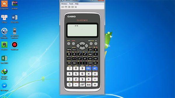 Cách giả lập máy tính Casio fx-570vn Plus cho PC