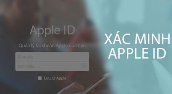 Khong Xac Minh Apple Id