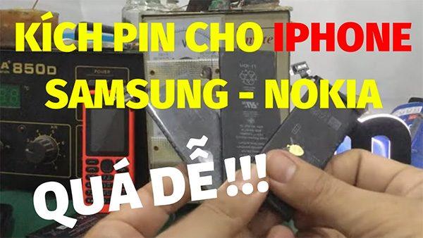 Kích pin iPhone đơn giản không?