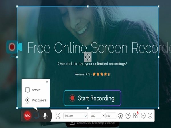 Phần Mềm Apowersoft Free Online Screen Recorder