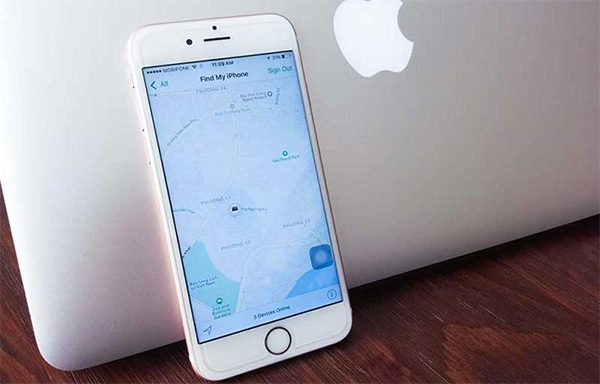Cách tìm điện thoại iPhone bị mất đơn giản