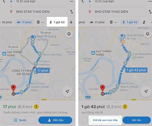 Những tính năng hay trên Google Maps không nên bỏ qua
