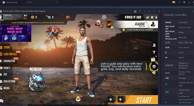 Game mobile trên GameLoop