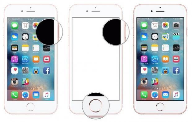Cách chụp màn hình iPhone 7 đơn giản nhất