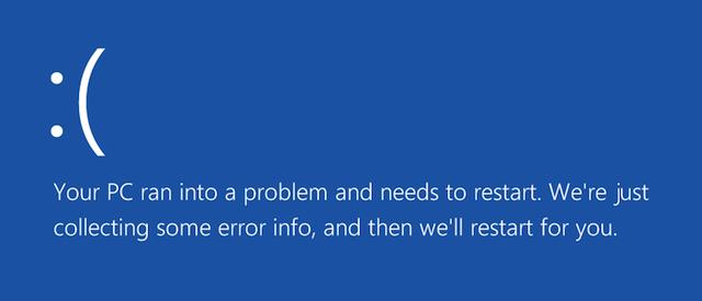 Ổn định hơn nhưng không có nghĩa Windows 10 không gặp lỗi.