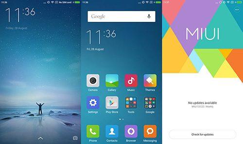 Đồng bộ danh bạ từ Gmail lên điện thoại Xiaomi