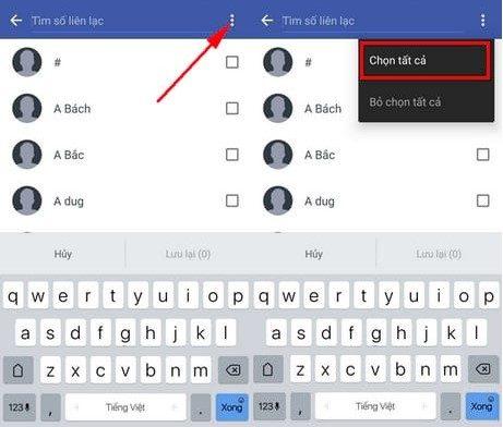 Hướng dẫn sao chép Danh bạ từ điện thoại vào SIM trên Android (2)