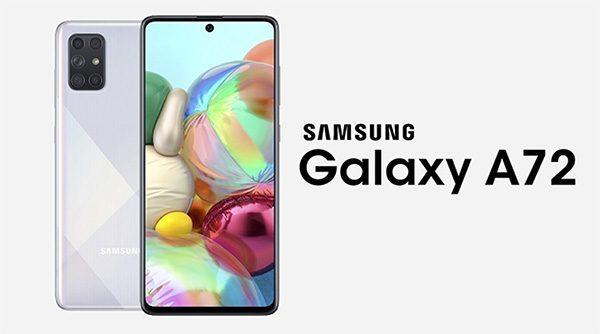 Galaxy A72 cũng có 2 phiên bản 4G và 5G